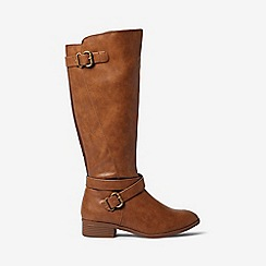 Dorothy Perkins - Tan torrence rider boots