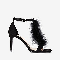 Dorothy Perkins - Black beau heeled sandals