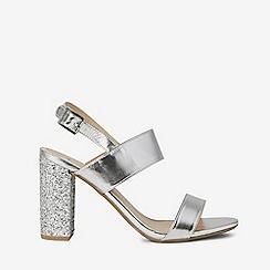 d3a3bae31d5d Dorothy Perkins - Silver strike heeled sandal