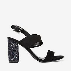 Dorothy Perkins - Black strike heeled sandals