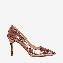 Dorothy Perkins - Pink ezzy sequin court shoes