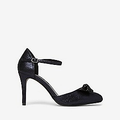 Dorothy Perkins - Navy groove court shoes