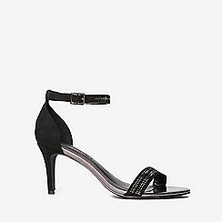 Dorothy Perkins - Black bling heeled sandals