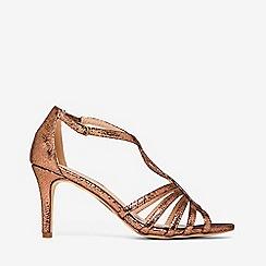 Dorothy Perkins - Bronze bethanie sandals