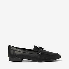 Dorothy Perkins - Black loyal ring loafers