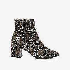 Dorothy Perkins - Multi snake design azzure boots