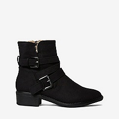 Dorothy Perkins - Black money biker boots