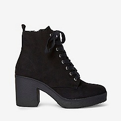 Dorothy Perkins - Black and lace up ankle boots