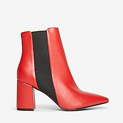 Dorothy Perkins - Red annika boots
