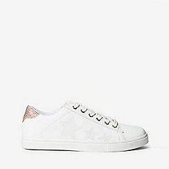Dorothy Perkins - White Iona star trainers