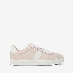 Dorothy Perkins - Nude izzy double striped lace up trainers