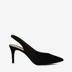 Dorothy Perkins - Black essie slingback court shoes
