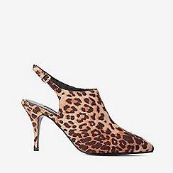 Dorothy Perkins - Multi colour leopard print polyurethane greta shoe boots