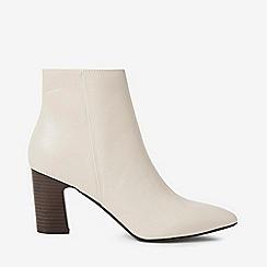 Dorothy Perkins - White bone adrienne boots