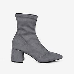Dorothy Perkins - Blue Ava Sock Boots