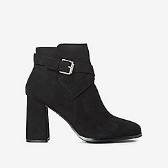 Dorothy Perkins - Black antelope boots