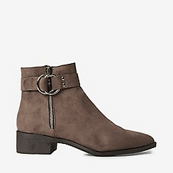 Dorothy Perkins - Taupe marlena boots