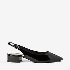 Dorothy Perkins - Black Daphne Block Heel Court Sandals