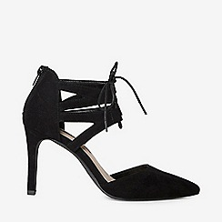 Dorothy Perkins - Black Lace Up Elle Court Shoes