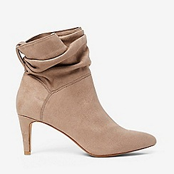 Dorothy Perkins - Taupe amy ankle boots