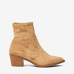 Dorothy Perkins - Yellow sand maddie western boots