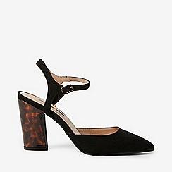 Dorothy Perkins - Black Eva High Heel Court Shoes