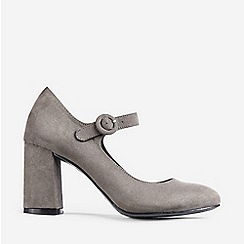 Dorothy Perkins - Grey Detroit Court Shoes