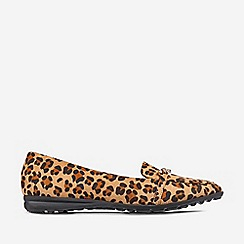Dorothy Perkins - Multi Colour Leopard Link Chain Loafers