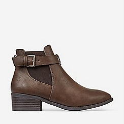 Dorothy Perkins - Chocolate Molino Jodphur Ankle Boots