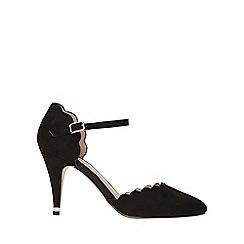 Dorothy Perkins - Black erin microfibre court shoes