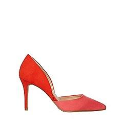 Dorothy Perkins - Pink microfibre etta court shoes