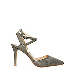 Dorothy Perkins - Grey glamorous court shoes