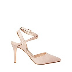 Dorothy Perkins - Nude pu glamorous court shoes