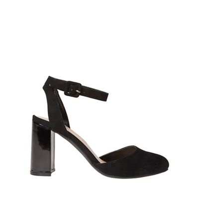 Dorothy Perkins   Black Graze Court Shoes by Dorothy Perkins