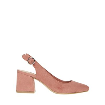 Dorothy Perkins - Pink eddy slingback court shoes