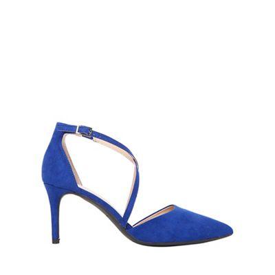 Dorothy Perkins - Blue elsa court shoes