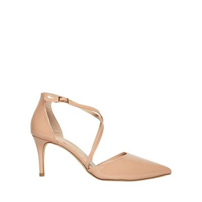 Dorothy Perkins   Nude Elsa Court Shoes by Dorothy Perkins