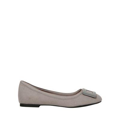 Dorothy Perkins - Grey portia ballerina pumps