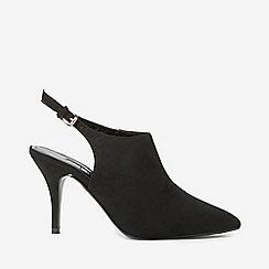 Dorothy Perkins - Black microfiber greta shoe boots