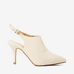 Dorothy Perkins - Bone polyurethane greta shoe boots