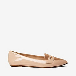 Dorothy Perkins - Nude pu pointed laisley loafers