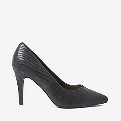 Dorothy Perkins - Black microfiber drake court shoes