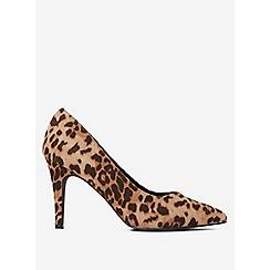 Dorothy Perkins - Leopard drake court shoes