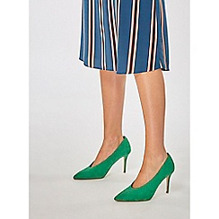 Dorothy Perkins - Green gatsby court shoes