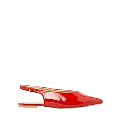 Dorothy Perkins - Red patent phantom pumps