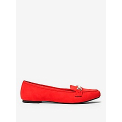 Dorothy Perkins - Red lair loafers
