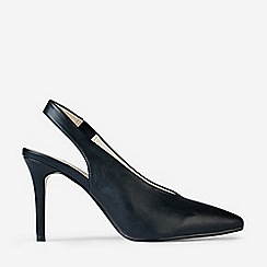 Dorothy Perkins - Black Daisy Slingback Court Shoes