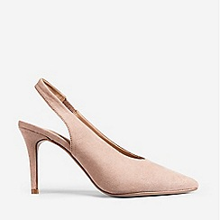 Dorothy Perkins - Pink Daisy Slingback Court Shoes