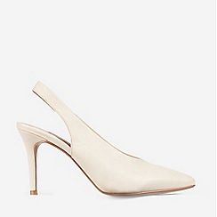 Dorothy Perkins - Ecru Daisy Court Shoes