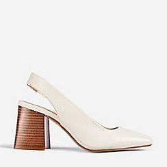 Dorothy Perkins - White Esmeralda Court Shoes